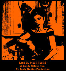 Flyer for Label Horrors the film.